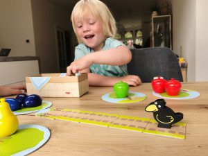 review de boomgaard kinderspel Haba
