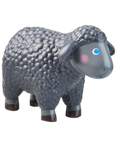 Zwart schaap Little Friends van Haba