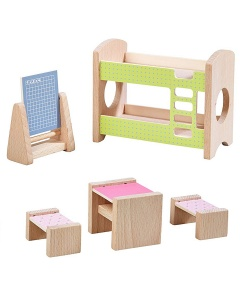 Haba kinderkamer Little Friends voor poppenhuis