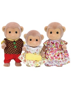 Familie aap Sylvanian Family