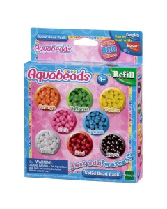Aquabeads navulling Solid Beads