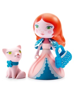 Arty Toys Prinses 'Rosa & Cat'