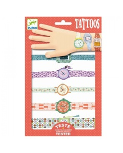 Tatoeages 'Wendy's horloges'
