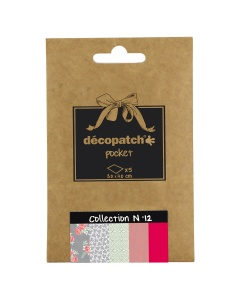 Decopatch papier N°12 in rood