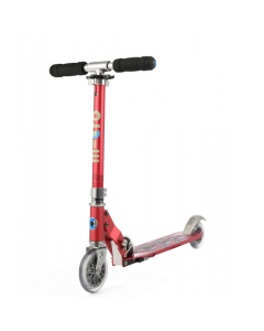 Scooter of step Sprite Raspberry Floral Dot