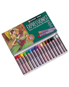 16 oliepastels 'Expressionist'